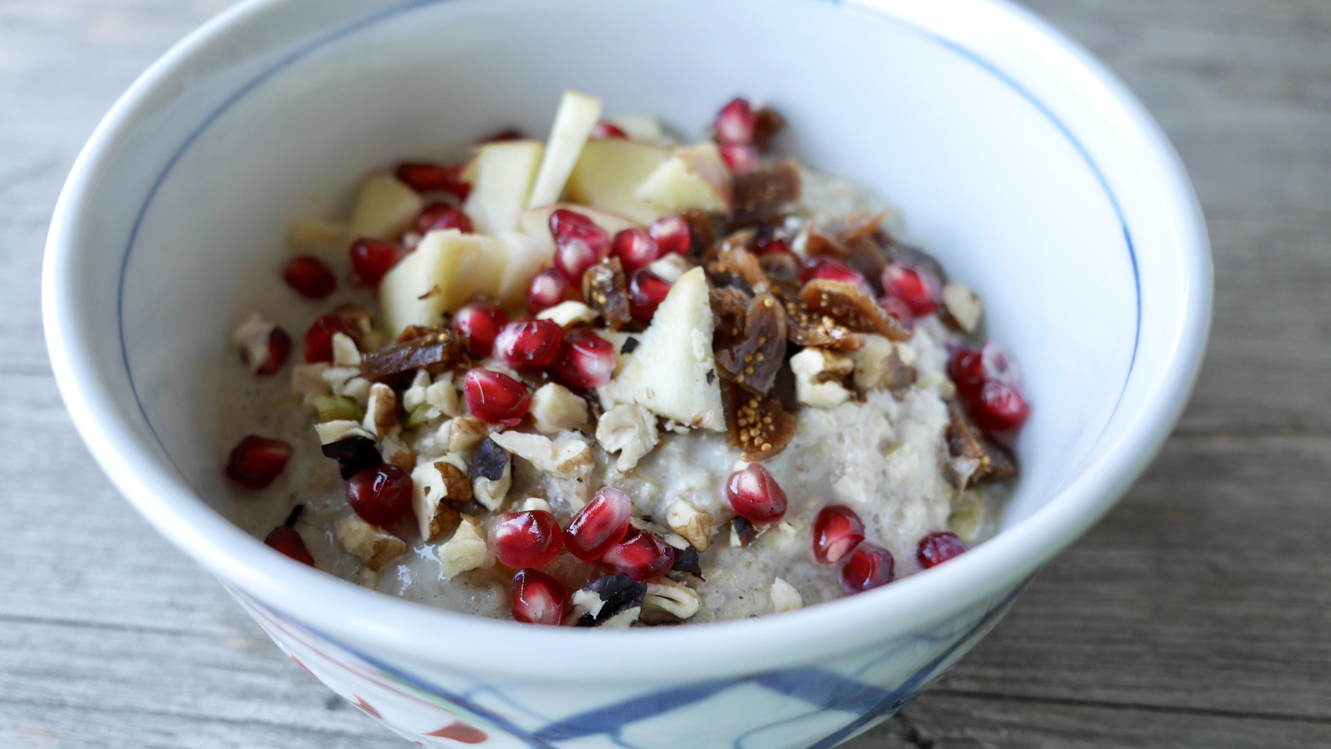 birnen-porridge