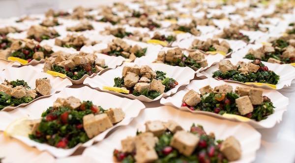 Tofu-Tabouleh. Foto: Dominik Stixenberger