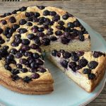 Heidelbeer-Vanille-Tofu-Kuchen