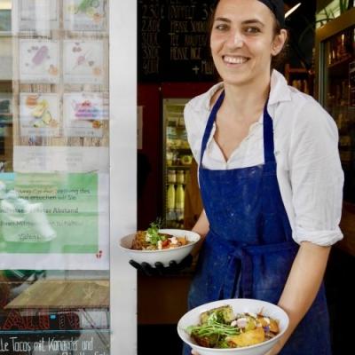 Nina Strasser von LANDKIND. Foto: Elisabeth Fischer